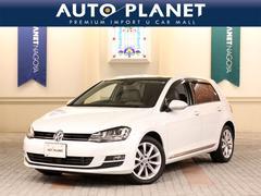 VW ゴルフTSIハイラインBMT ベージュ革シート サンルーフ ACC