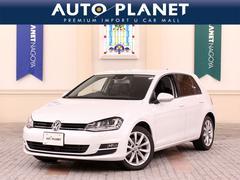 VW ゴルフTSIハイラインBMT ナビTV ACC 革シート