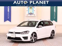 VW ゴルフRヴァリアントベースグレードDCCパッケージ 1オーナー 革シート ACC