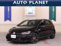 VW ゴルフGTIクラブスポーツストリートED 1オーナー ACC ナビTV