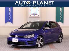 VW ゴルフRベースグレード 1オーナー ACC 革シート