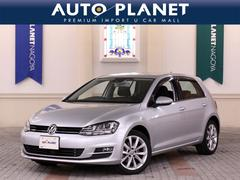 VW ゴルフTSIハイラインブルーモーションテクノロジー ACC ナビ