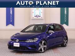 VW ゴルフRベースグレード 1オーナー ACC 黒革シート