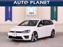 VW ゴルフRヴァリアントベースグレード ACC 黒革シート バックカメラ