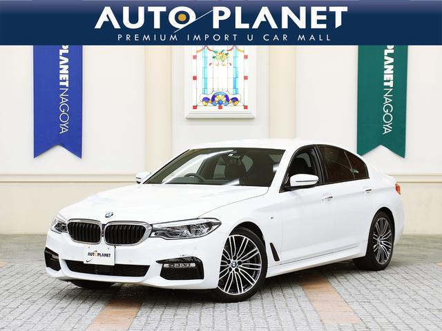 BMW 5シリーズ 523d Mスポーツ ハイラインパッケージ 禁煙/黒革S/全周囲カメラ/Pゲート/衝突軽減B/ACC/シートH/Pシート/ミラーETC/SOSコール/LEDヘッドライト/コンフォートアクセス/リヤシートH/クリアランスソナー/ブラインドスポット