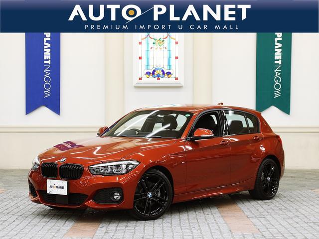 BMW 118i Mスポーツ エディションシャドー /禁煙車/インテリジェントセーフティ/ACC/黒革S/黒アルミ/HDDナビ/シートH/Pシート/ミラーETC/Bカメラ/SOSコール/LEDヘッドライト/コンフォートアクセス/クリアランスソナー/CD
