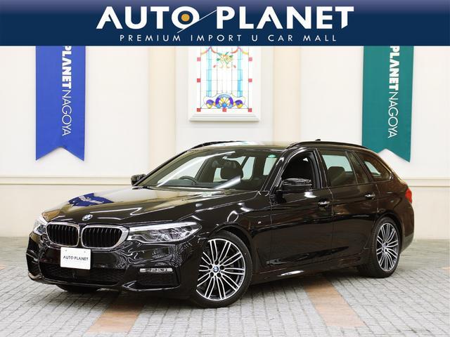 BMW 523dツーリング Mスポーツ 1年保証・走行距離無制限/禁煙車/衝突軽減B/ACC/レーンAS/全周囲カメラ/HDDナビTV/ミラーETC//Pゲート/LEDヘッドライト/コンフォートアクセス/ヘッドアップディスプレイ