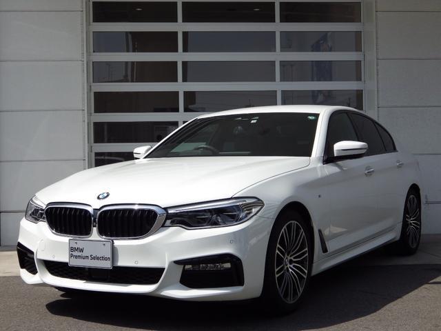 BMW 523i Mスポーツ ハイラインパッケージ イノベーションPKG/禁煙車/黒革S/全周囲カメラ/HDDナビTV/シートH/Pシート/Pゲート/マッサージ機能/衝突軽減B/ACC/車線逸脱警告/ワイヤレスモバイルチャジャー/障害物センサー