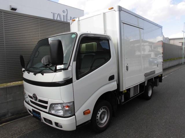 トヨタ  冷蔵冷凍車 -7℃ ガソリン車 バックモニター パワーウインド