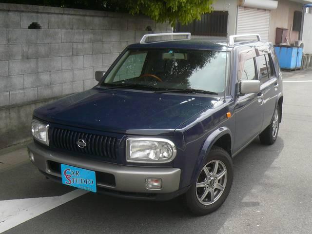 日産 ラシーン タイプII 4WD キーレス 社外デッキ 背面タイヤ