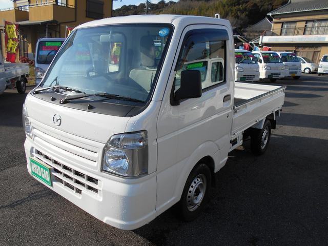 マツダ スクラムトラック KCエアコン・パワステ 4WD 5000Km SRS BT新