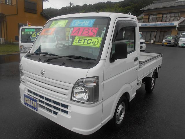 スズキ キャリイトラック KC AC/PS 23000Km ABSナビ&TV ETC