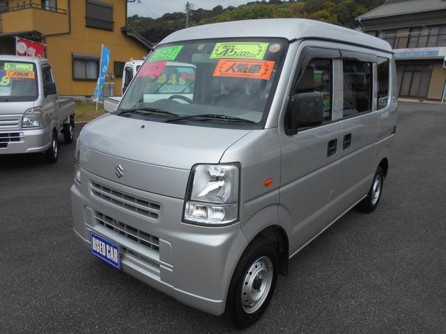スズキ エブリイ PA 45000Km マニュアル車 キーレス パワーウインド CD バッテリー新品