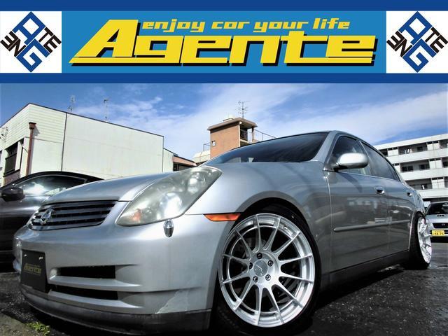 日産 スカイライン 350GT /6MT/新品BLITZ車高調ZZ-R/新品ENKEIアルミNT03RR18AW/V6フロントミッドシップVQ35DE(NEO)/272ps/タイミングチェーン/HID/ETC/プライバシーガラス/