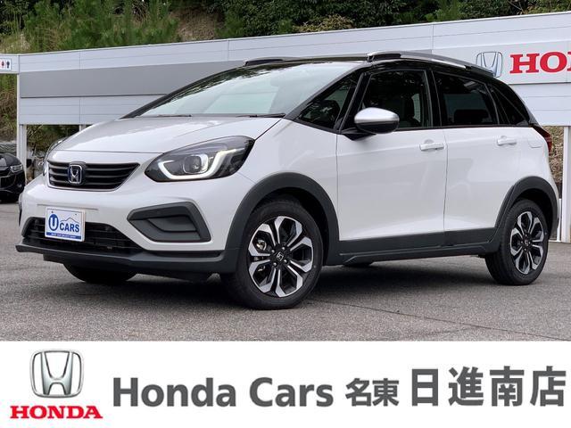 ホンダ e:HEVクロスター デモカー Honda CONNECT 9インチギャザズナビ リアカメラ スマートキー 16インチアルミホイール ルーフレール LEDヘッドライト コンフォートビューパッケージ