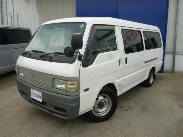 三菱 ロングDX ガソリン車 ETC 5ドア ジャストローWタイヤ