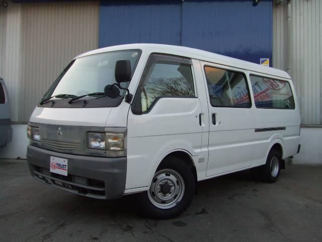 三菱 ロングDX ガソリン ジャストロー ETC 5ドア