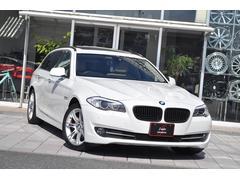 BMW523iツーリング ハイラインパッケージHDDナビ本革SR