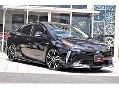 プリウスSセーフティプラスII 新車 インテリジェントクリアランスソナー モデリスタアイコニック 19インチAW ローダウン 衝突回避支援 AC電源1500W BSM LEDヘッド LEDフォグ LEDデイライト