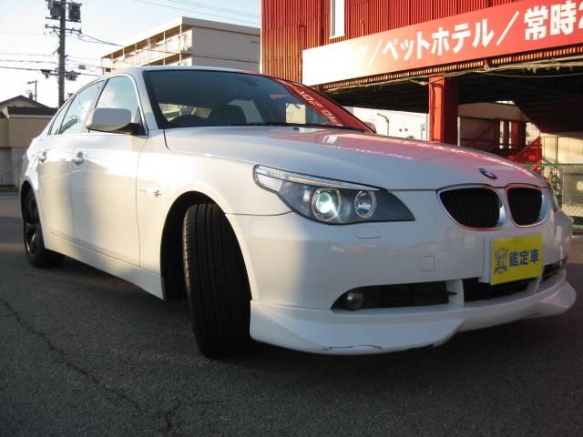 BMW 5シリーズ 525i キーレス ETC HID 革シート ...