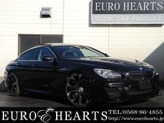 BMW640iグランクーペ 黒革 SR WALDブラックバイソン
