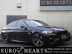 BMW523i 黒革 サンルーフ M5仕様エアロ ZEESマフラー