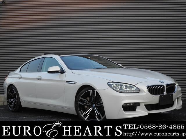 BMW 640iグランクーペ 黒革 サンルーフ 新品M6仕様20AW