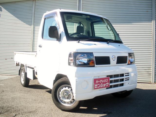 日産 クリッパートラック DX ワンオーナー車 エアコン パワステ 5速MT