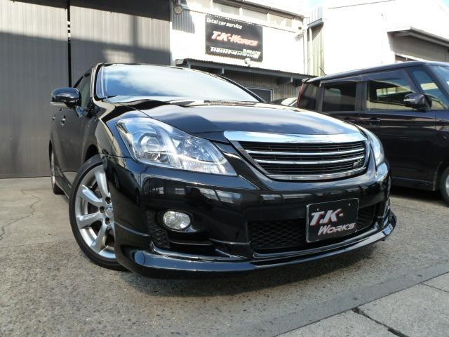 トヨタ 3.5アスリート +M スーパーチャージャー 黒革S HDD
