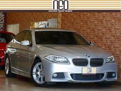 BMW528i MスポーツPKG 1オーナサンルーフ 屋内保管禁煙