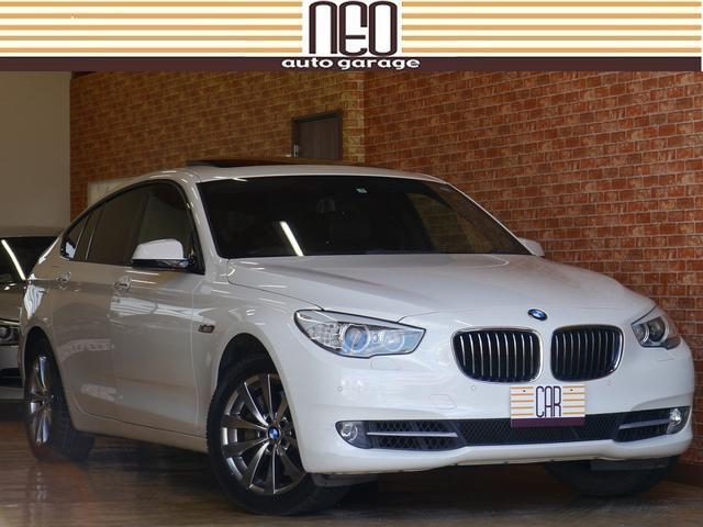 BMW 535iグランツーリスモ パノラマルーフ 黒革 シートヒーター 革ハンドル 地デジ Bカメラ PDCセンサー 電動2WAYリアゲート