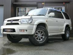 ハイラックスサーフSSR−X ホワイトプレミアム SDナビフルセグ 4WD