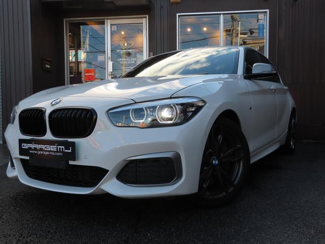 BMW M140i エディションシャドー 1オーナー 禁煙車 黒革 1オーナー 禁煙車 黒革 シートヒーター ブルーキャリパー 純正ナビBカメラ ETC ドラレコ レーダー ドアミラーウィンカー パドルシフト ディーラー車 スマートキー プッシュスタートB