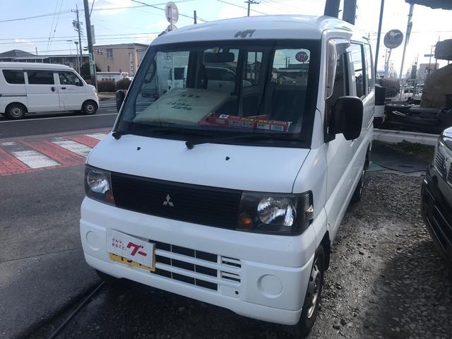三菱 ミニキャブバン CD 軽バン スライドドア ホワイト