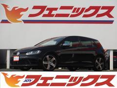 VW ゴルフRベースグレード 黒革シートナビTV4WDターボETC