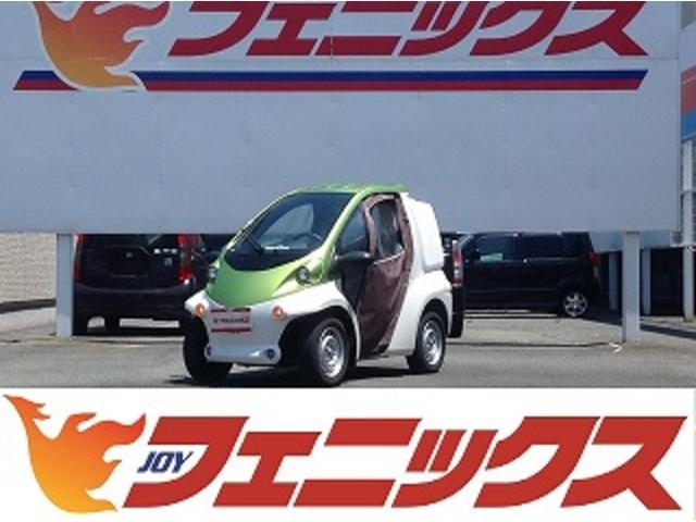 日本その他  トヨタ コムス デリバリータイプ 充電ケーブル有(100V) オプションキャンパスドア ツートンカラー