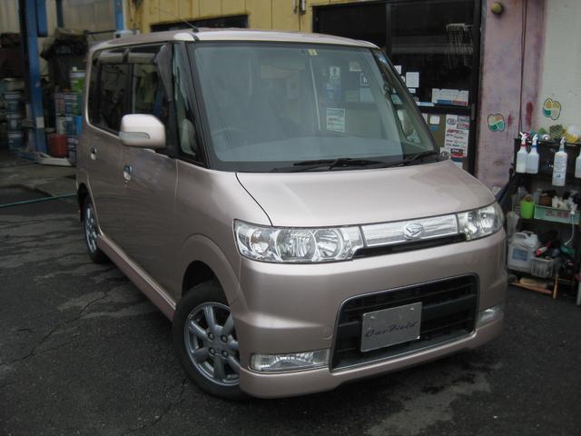 カスタムX 4WD 純正HID ワンオーナー(1枚目)
