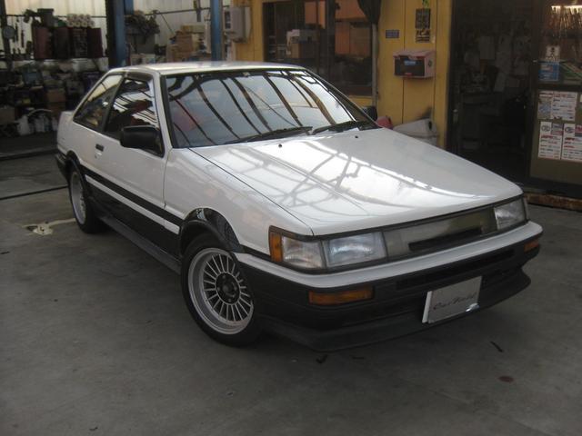 トヨタ GT APEX 5バルブ エキマニ 機械式LSD TRD強化クラッチ