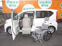 ムーヴ福祉車両 X SAII 助手席リフトUP 4WD