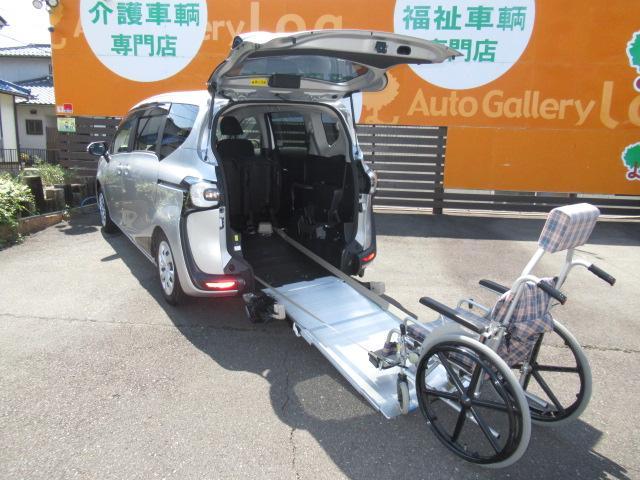 トヨタ G 福祉車両 スロープタイプI  社外ナビ・TV・ETC付