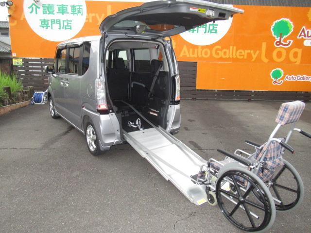 ホンダ 福祉車両 G スロープ 電動ウィンチ 純正CDオーディオ