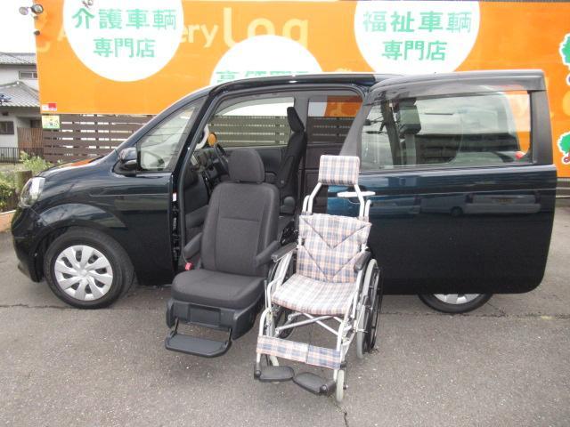 トヨタ 福祉車両 F 助手席リフトアップシート Aタイプ ナビ付