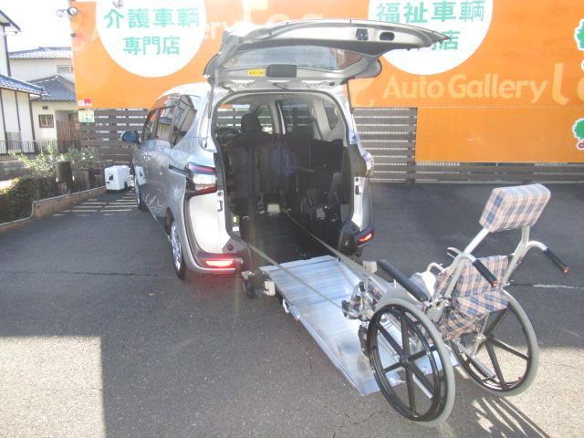 トヨタ G 福祉車両 スロープタイプ1 純正ナビ・ドライブレコーダー