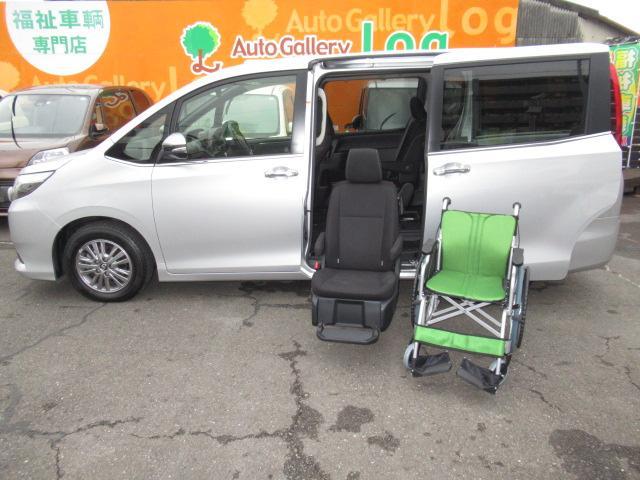 トヨタ Xi 福祉車両 サイドリフトアップシート装着車 純正ナビTV ETC トヨタセーフティセンス