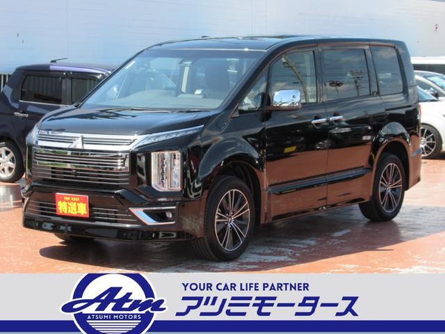 三菱 アーバンギアGパワーパッケージ 登録済未使用車 7人乗モデル