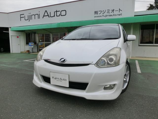 トヨタ X エアロスポーツパッケージ 革調シートカバー マフラー