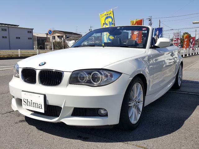 BMW 120i カブリオレ Mスポーツパッケージ 1オーナー