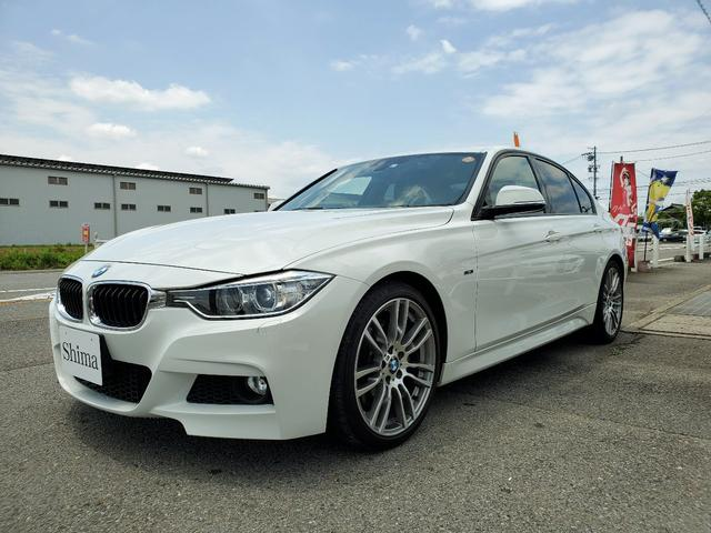 BMW 320i Mスポーツ  Mブレーキ 19インチアルミ