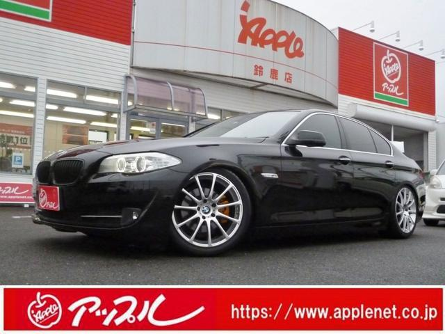 BMW 528iブラックレザーシート車高調LD社外19インチAW