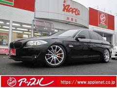 BMW528iブラックレザーシート車高調LD社外19インチAW